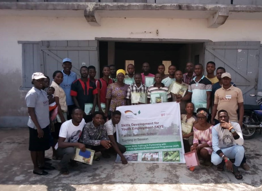 Business Skills Training for Young Farmers