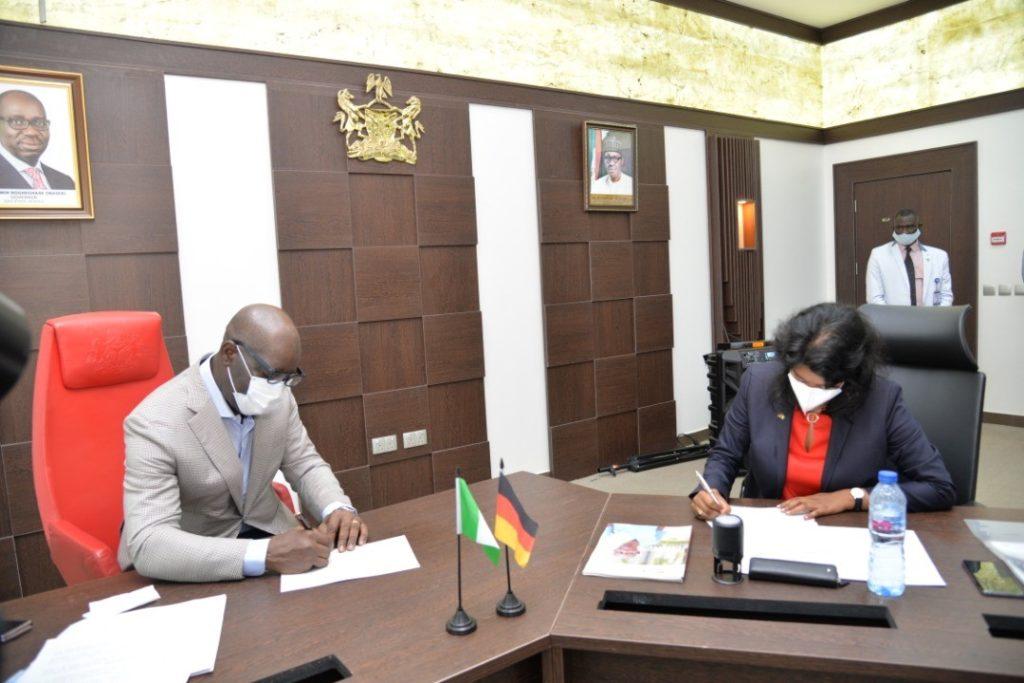 GIZ Nigeria signed a Memorandum of Understanding